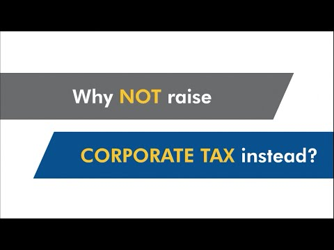 Why not raise corporate tax instead?